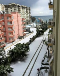 30 Yıl Sonra Mersin'e Kar Yağdı