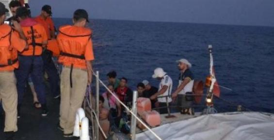 16'sı Çocuk 45 Kaçak Yakalandı