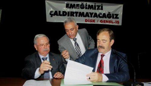 1 Mayıs Yardımı TİS'e Girdi.