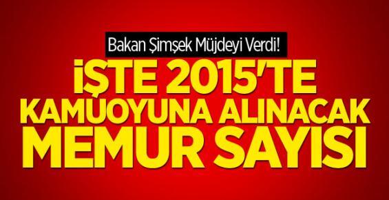 2015'te Ne Kadar Memur Alınacak