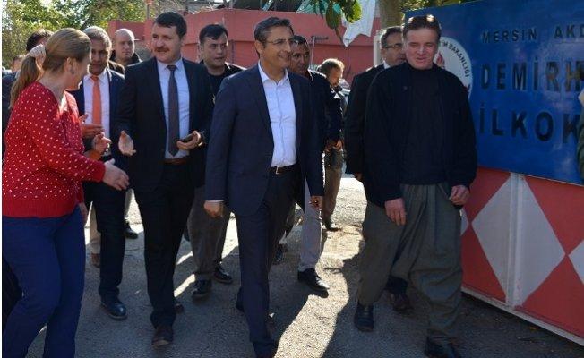 Başkan Pamuk Nahalle Ziyaretleri Mesaisinde