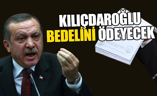 Erdoğan'dan Çarpıcı Zarrab Açıklaması... Kılıçdaroğlu Bedelini Ödeyecek!
