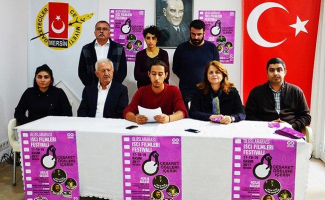 İşçi Filmleri Festivali Mersin'de Kapılarını Açıyor
