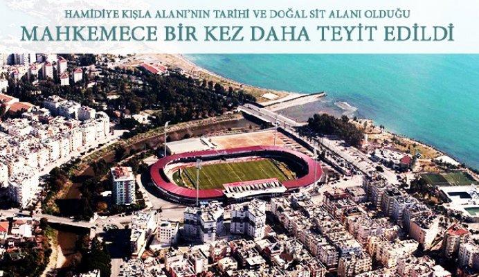 Mersin'de Tarihi Kışla Arazisinin İmara Açılmasına Yargı Freni