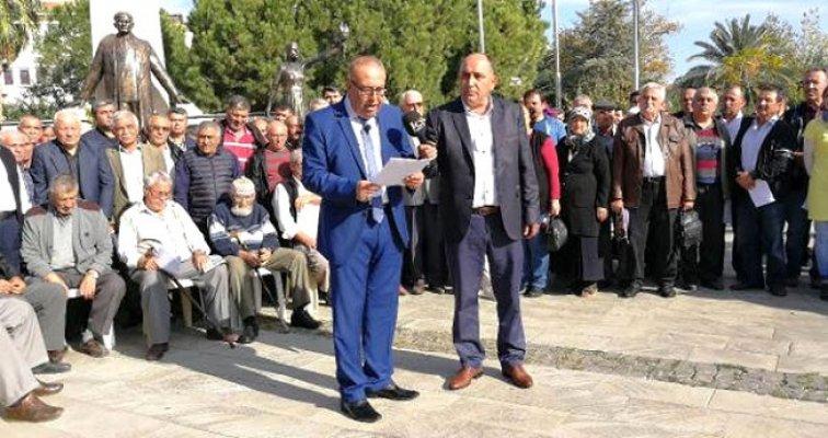 Mersin'in Anamur İlçesinde MHP'liler Toplu İstifa Etti.