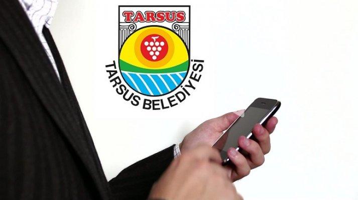 Tarsus Belediyesi Gelirler Müdürlüğü'nde SMS Dönemi