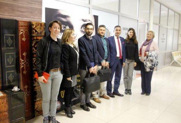 Avrupa İnsani Yardım ve Sivil Koruma Heyeti Mersin'de