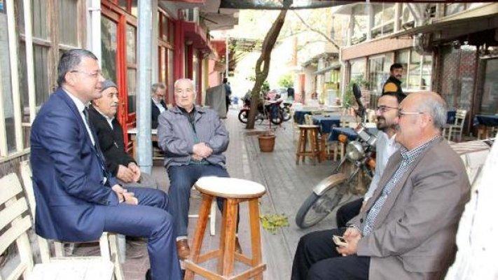 Başkan Turgut'tan Mahalle Ziyaretleri
