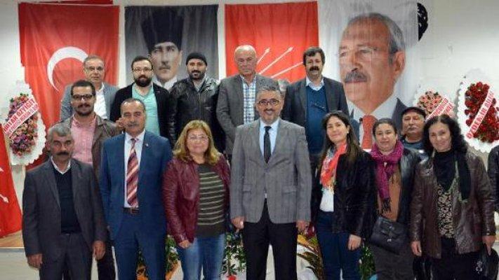 CHP Mut İlçe Başkanlığına Yeniden Abdurrahman Günay Seçildi.