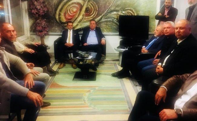 CHP'lilerden Macit Özcan'a Geçmiş Olsun Ziyaretleri