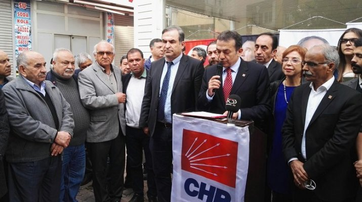 """CHP Mersin İl Başkanı Özyiğit """"Ben Aday Değilim Diyene Kadar İl Başkanıyım"""""""
