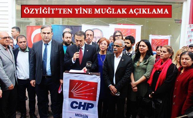 CHP Mersin İl Kongresine Yeni İl Başkanı İle mi Gidecek ?