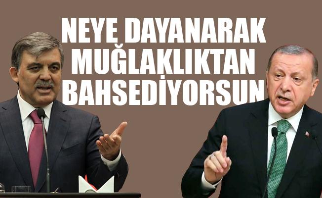 Erdoğan'dan Gül'e KHK Tepkisi: Üzücü