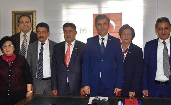 İyi Parti Mersin'de 9 İlçe Başkanını Açıkladı