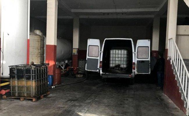 Kaçak Akaryakıt Satıcılarına Jandarma Darbesi
