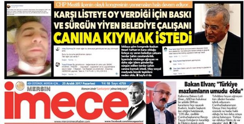 Kılıçdaroğlu'nu Mersin'de Harekete Geçiren Kanlı Olay