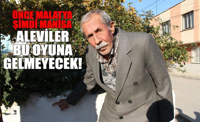 Manisa'da Alevi Vatandaşın Evini İşaretlediler