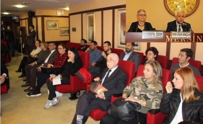 Mersin Barosu'nda Aile Hukukunda Yargıtay Uygulamaları Anlatıldı