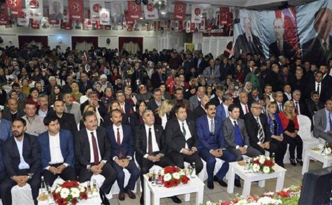 Mersin'de MHP'ye 509 Yeni Üye