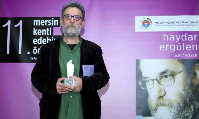 Mersin Kenti Edebiyat Ödülü, Şair ve Yazar Haydar Ergülen'in
