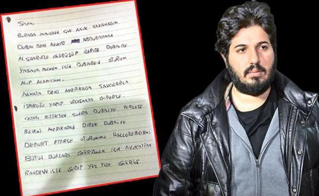 Reza Zarrab'ın Gizli Planı Ortaya Çıktı