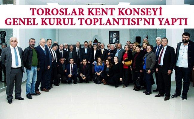 Toroslar Kent Konseyi, Genel Kurul Toplantısı'nı Yaptı