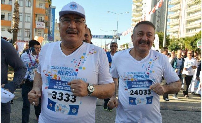 Uluslararası Mersin Maratonu Tamamlandı