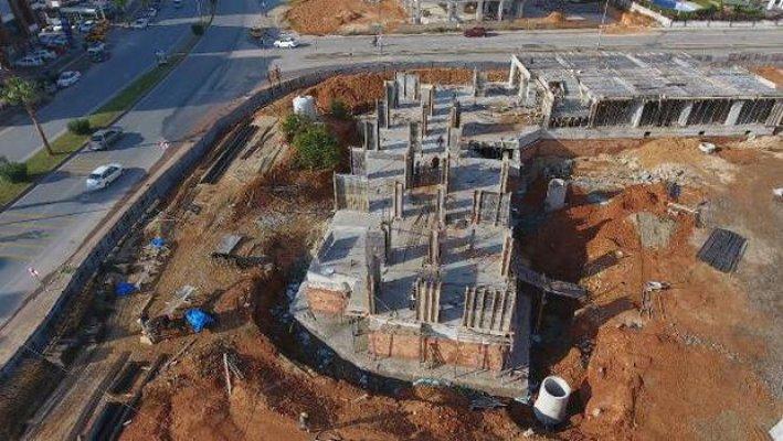 Yenişehir Belediyesi'nin Yurt Yapımı Sürüyor