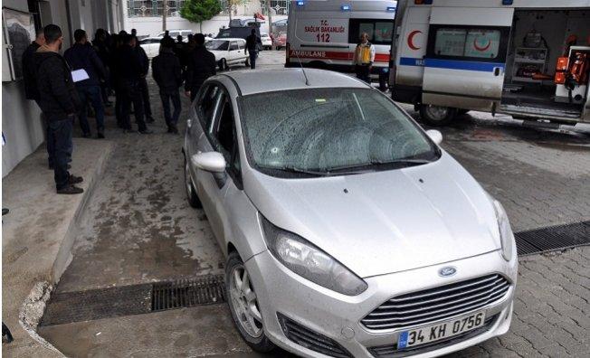 Adliye Çıkışında 1 Kişi Öldürüldü, 3 Çocuğu Yaralandı