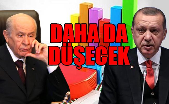 AKP ve MHP'ye Anket Şoku! AKP Yüzde 38, MHP Yüzde 5