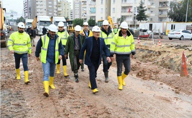 Başkan Kocamaz, Projeleri Yerinde İnceledi