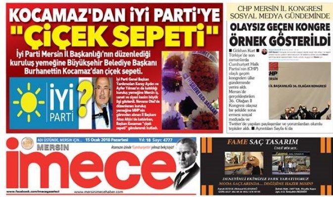 Burhanettin Kocamaz'dan İmece Gazetesine Tazminat Davası