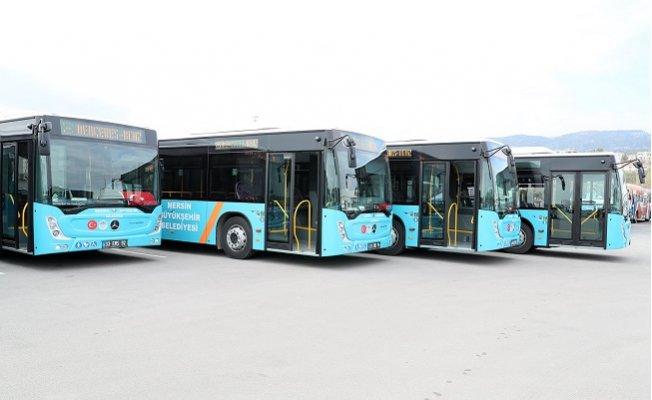Mersin Büyükşehir Belediyesi, 30 Yeni Otobüsü Hizmete Sunuyor