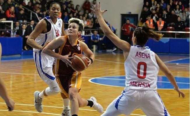 Mersin Büyükşehir Belediyespor-Galatasaray: 87-77