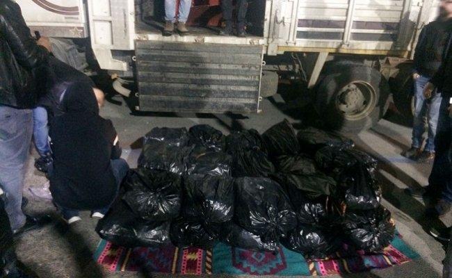 Mersin'de 164 Kilo Esrar Ele Geçirildi