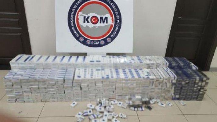 Mersin'de 5 Bin 250 Adet Kaçak Sigara Ele Geçirildi
