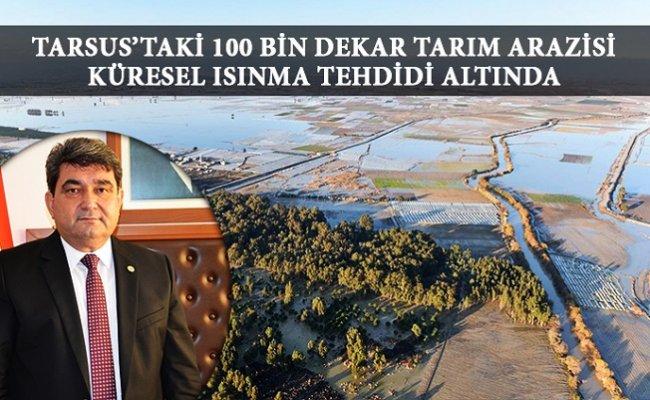 Mersin'de Çiftçinin  Zararı  115 Milyon Lirayı Buldu.