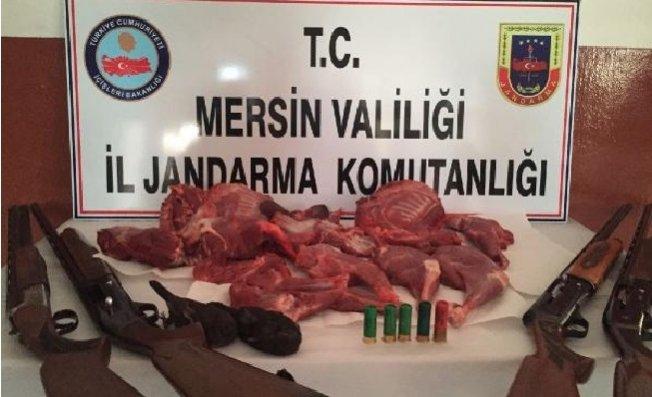 Mersin'de Kaçak Av, Jandarmaya Takıldı