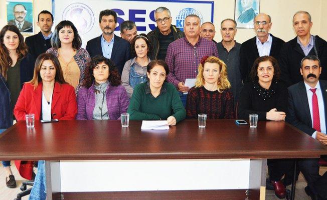 Mersin'de Kamu Emekçilerinden Mücadele Çağrısı