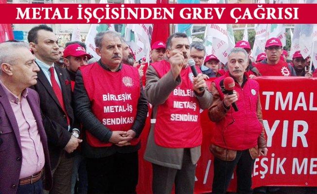 Mersin'de Metal İşçileri 1 Şubatta Greve Çıkıyor