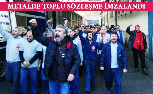 Mersin'de Metal İşçisinin Direnişi Kazandı.