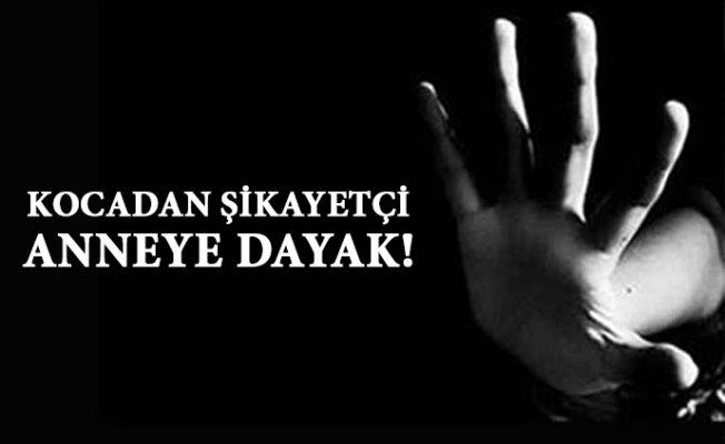 Mersin'de Skandal Olay...Şikayetçi Olan Anneye Dayak