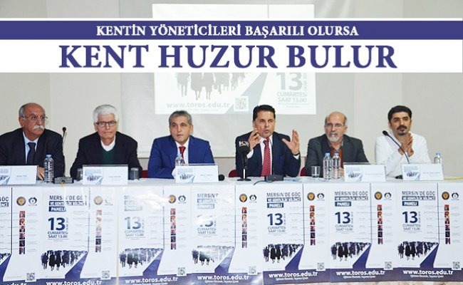 Mersin'de Yerel Yönetimlere İşbirliği Çağrısı