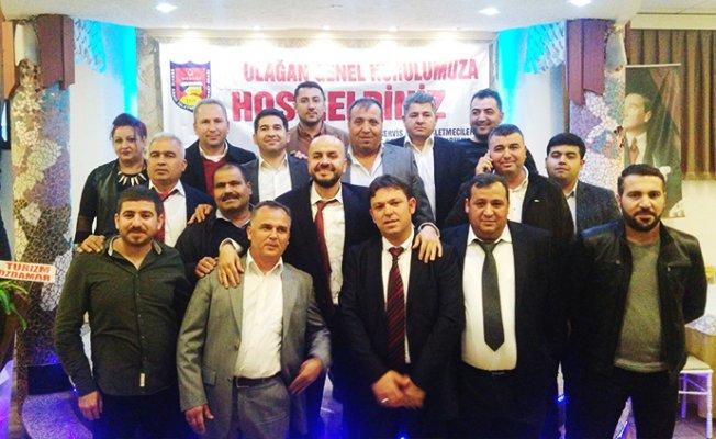 Mersin Serviscileri Esnaf Oda Başkanlığa Zafer Çekmez Seçildi.