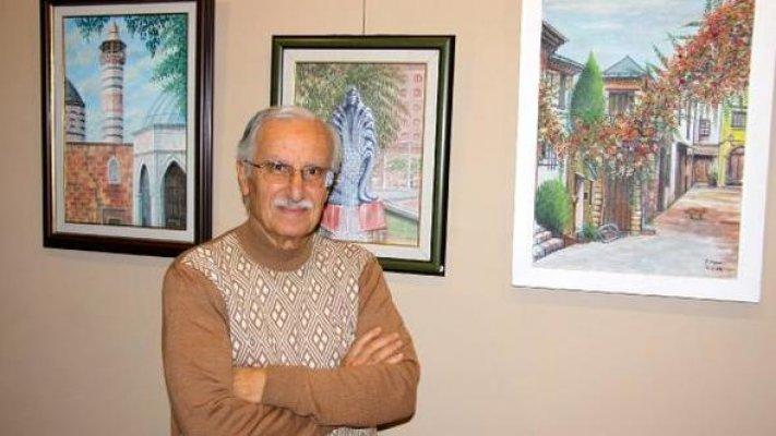 Ressam Ongun, 65'inci Sanat Yılını Sergi ile Kutladı