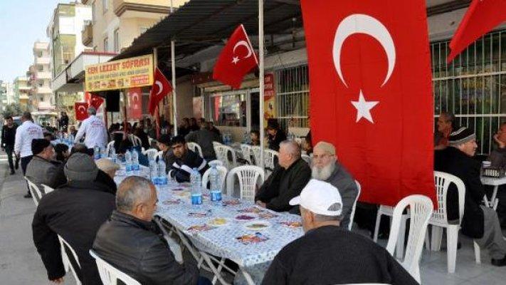 Tarsus'da Şehitler İçin Mevlit