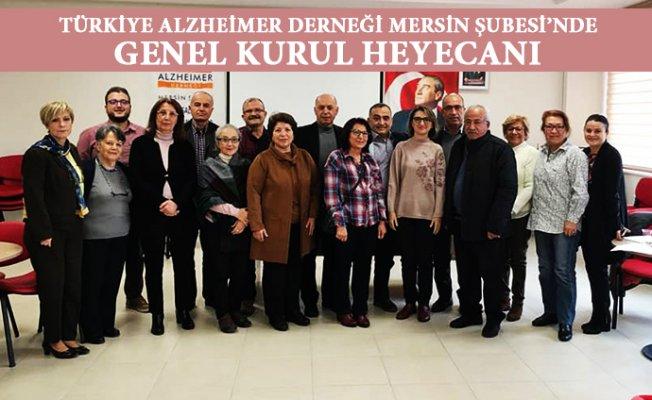 Türkiye Alzheimer Derneği Mersin Şubesi'nde Aynur Özge'nin Güven Tazeledi.