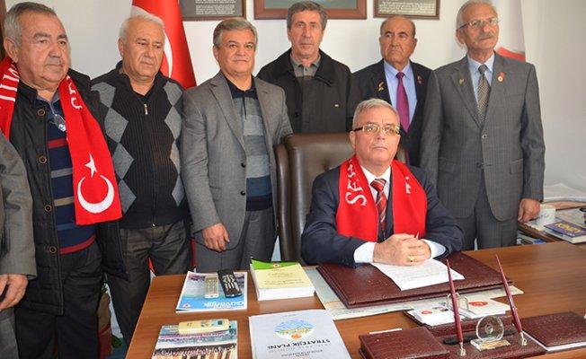 Mersin'de Emekli Astsubaylardan Afrin Operasyonuna Destek