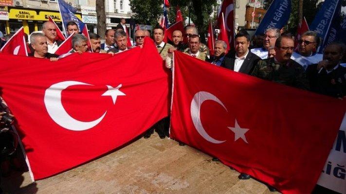 Mersin'de Mehmetçik'e Destek Eylemi