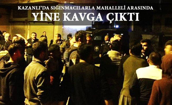 Mersin'de Suriyeliler İle Kavga'da 3 Kişi Yaralandı